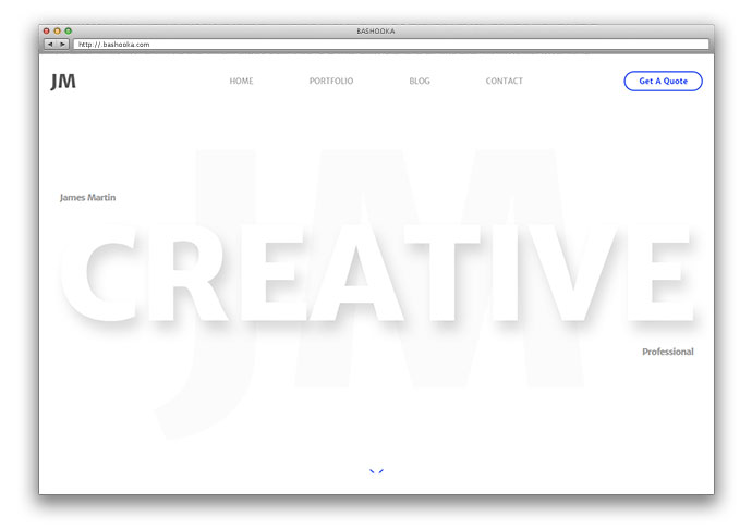30+ Free HTML Portfolio Website Templates