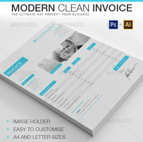 20 Creative Invoice & Proposal Template Designs – Bashooka
