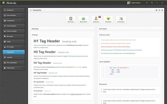 46 Free Amp Premium Bootstrap Admin Templates Web Amp Graphic Design Bashooka