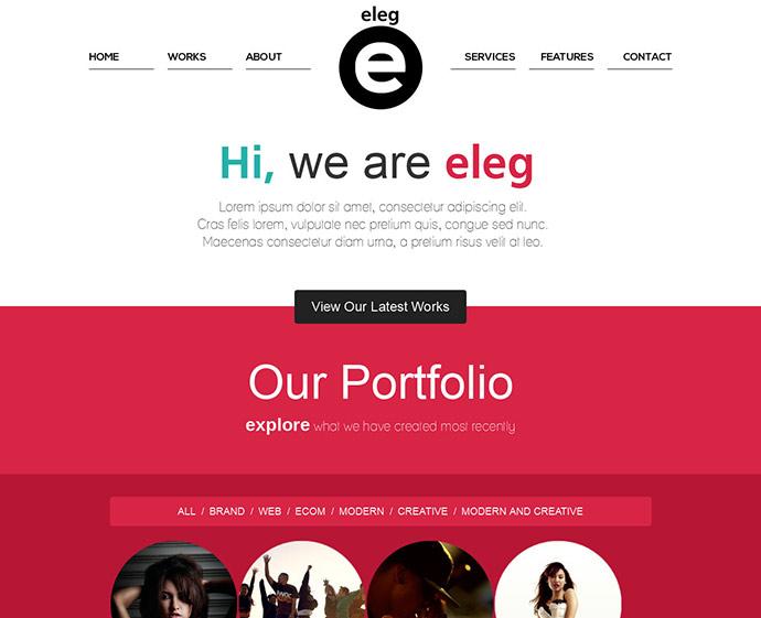 45 Best Bootstrap Portfolio Website Templates Web