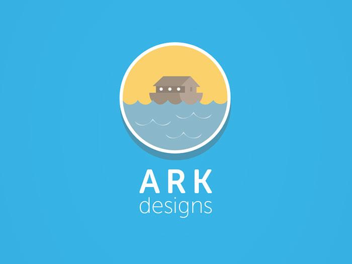 38 Modern Flat Logo Designs Inspiration – Web & Graphic