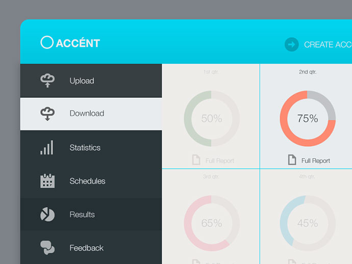 50 Intuitive Dashboard UI Designs – Web & Graphic Design