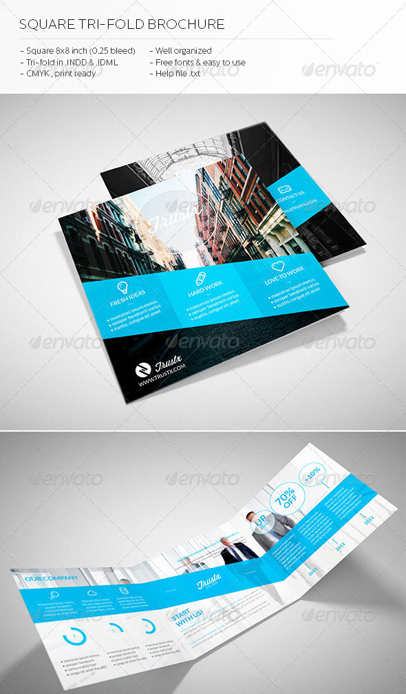 30 High Quality InDesign Brochure Templates Web & Graphic Design