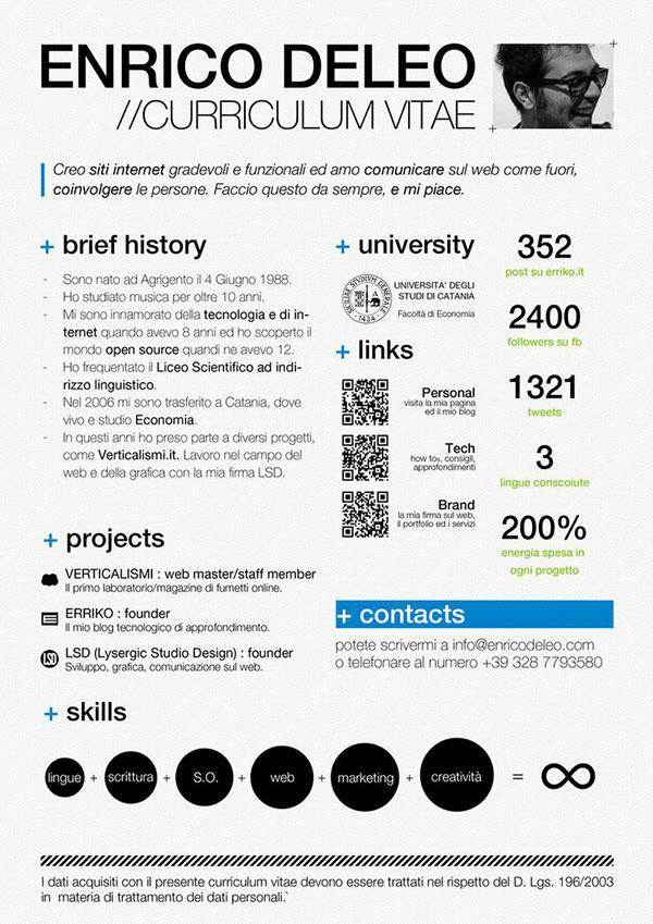 resume template design behance