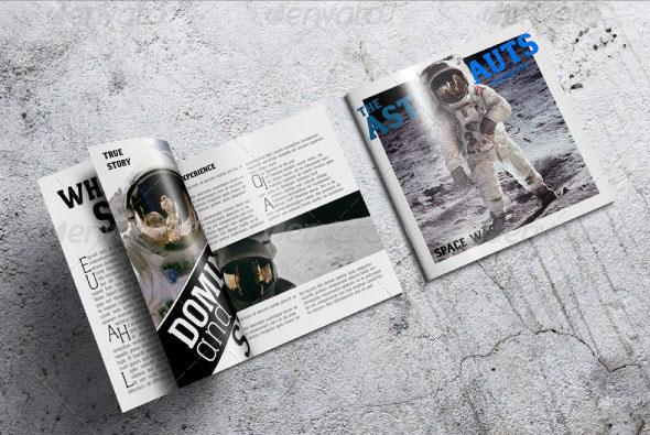 41 PSD Brochure Mockup Templates  Web  Graphic Design  Bashooka