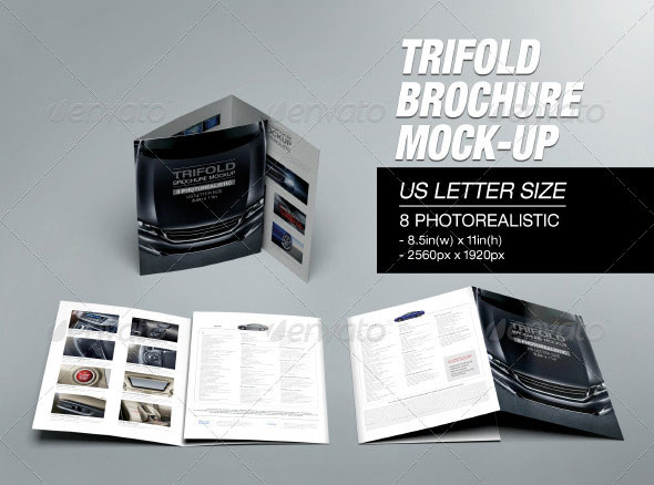 41 PSD Brochure Mock Up Templates Web & Graphic Design
