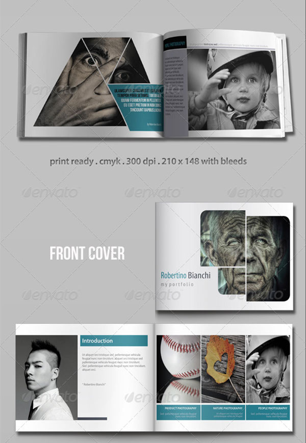 20 Awesome InDesign & PSD Photography Brochure Templates