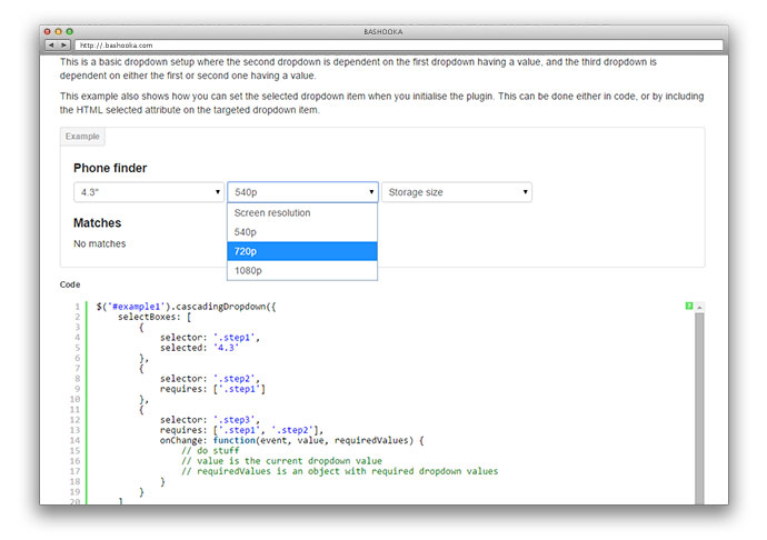30 jQuery Plugins For Styling HTML Form Elements