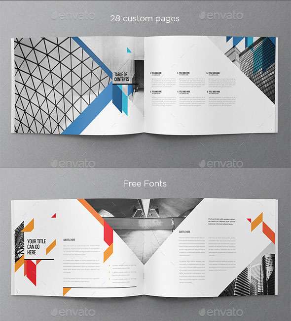 30 Eye Catching PSD & InDesign Brochure Templates – Bashooka