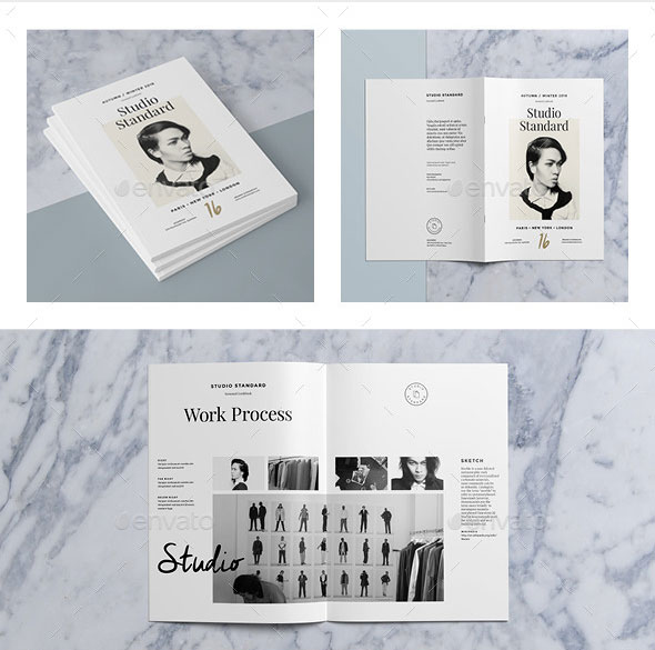 30 Eye Catching PSD & InDesign Brochure Templates Web