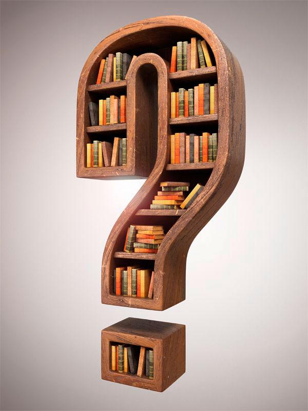 21 Cool Bookshelf Designs  Web  Graphic Design on Bashooka