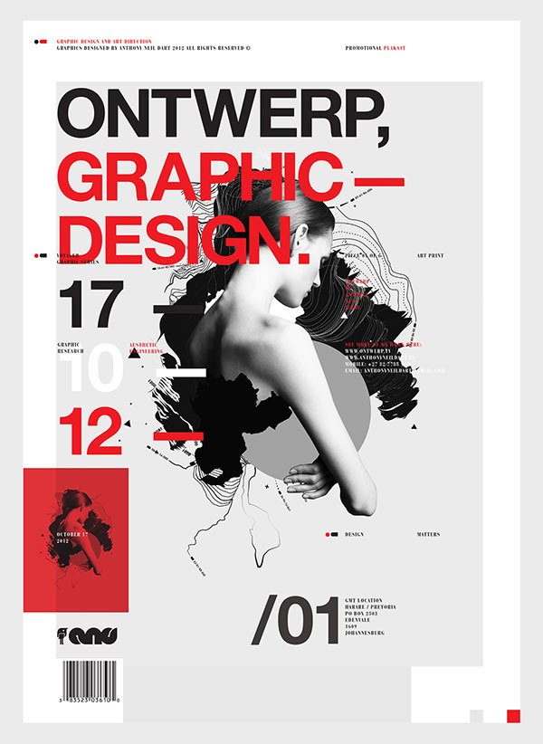 29 Amazing Use Of Swiss Style In Poster Design – Web