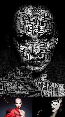 Typo Portrait Pro Photoshop Action