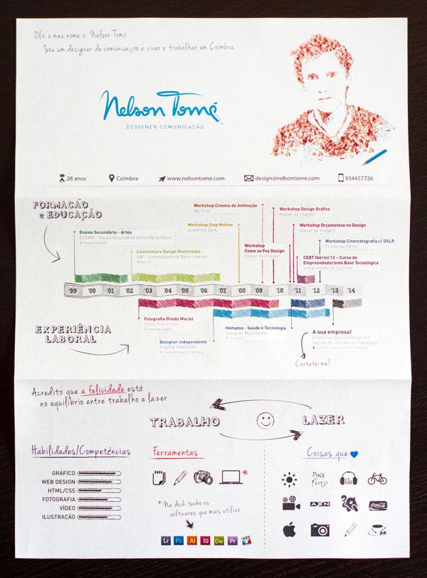 34 Outside The Box CV Resume Designs Web & Graphic