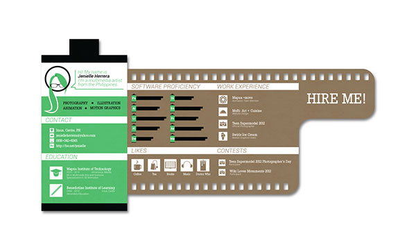 34 Outside The Box CV Resume Designs Web & Graphic