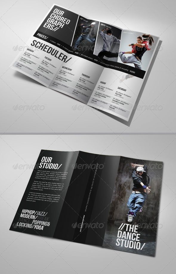 25 Top Notch Psd Tri Fold Brochure Templates For Business