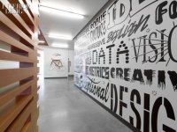 34 Inspiring Typography Wall Mural Designs   Web & Graphic ...