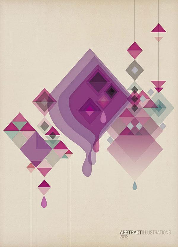 Awesome Animated Wallpapers 35 Amazing Geometric Poster Designs Bashooka