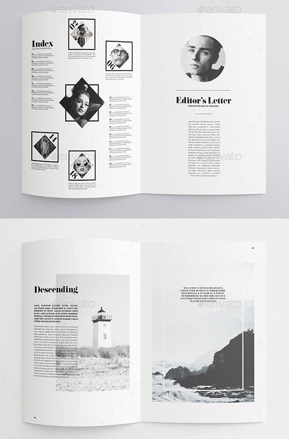 35 Best Magazine Template Designs Web Amp Graphic Design
