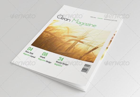 35 Best Magazine Template Designs Bashooka