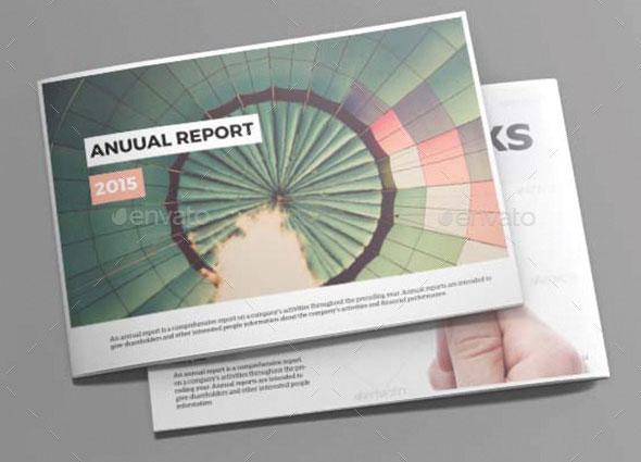 annual report design templates