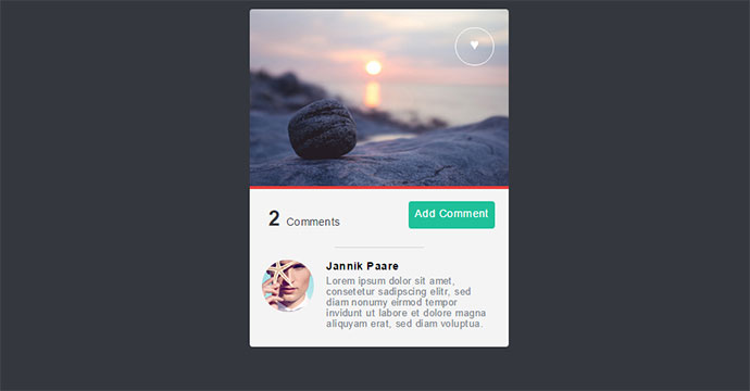 25 Cool CSS Card UI Examples Web Amp Graphic Design Bashooka