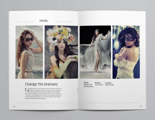 40 Beautiful InDesign Fashion Brochure Templates Web