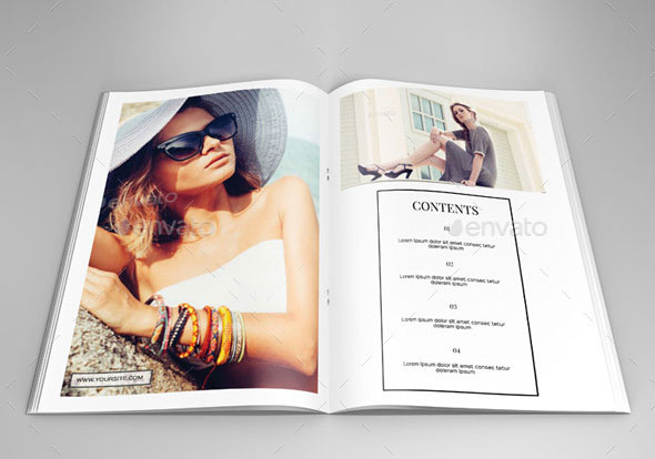 40 Beautiful InDesign Fashion Brochure Templates  Web  Graphic Design  Bashooka