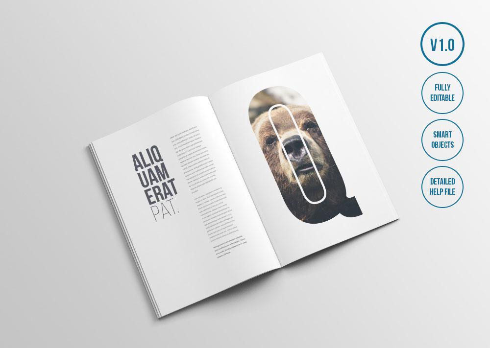 25 Free PSD Magazine & Book Design Mockups Web & Graphic