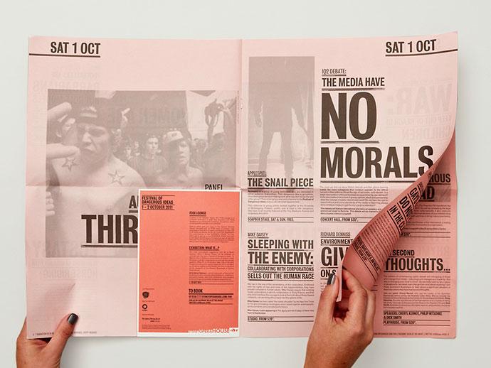 30 Stunning Newspaper Layout Designs Web & Graphic