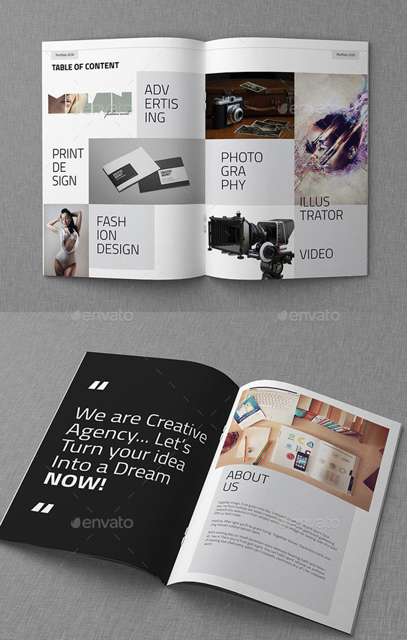 sample brochure design
