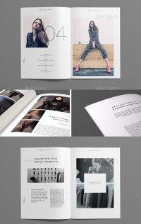 20 Gorgeous InDesign Lookbook Template Designs | Web ...