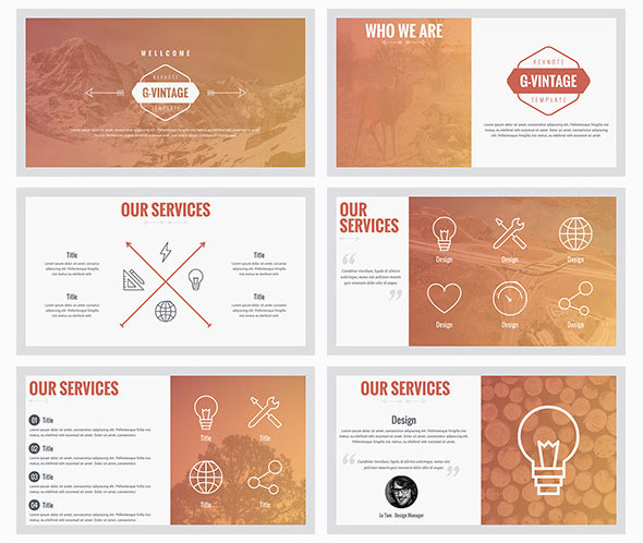 25 Best Simple Keynote Templates Web & Graphic Design