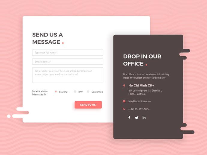 50 Beautiful Web  Mobile Form Designs  Web  Graphic