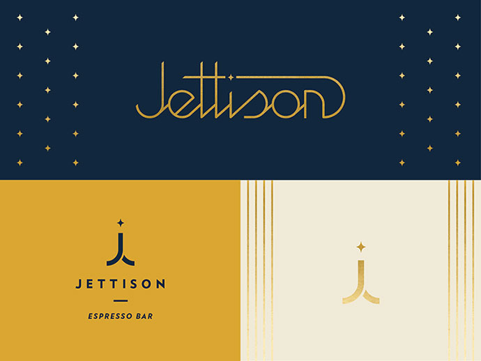 40 Creative Lettermark & Wordmark Logo Designs Web
