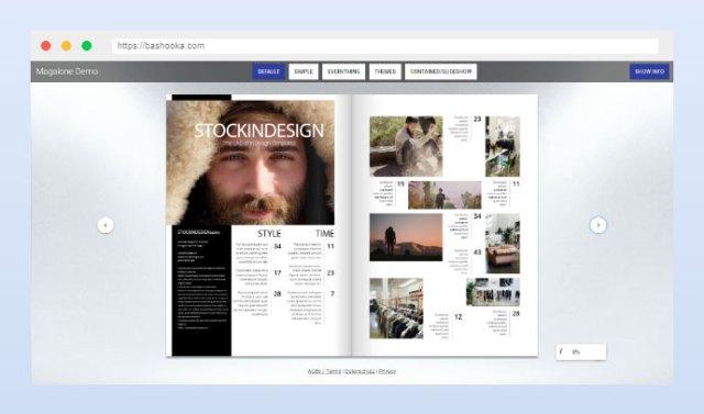Magalone Flipbook for WordPress