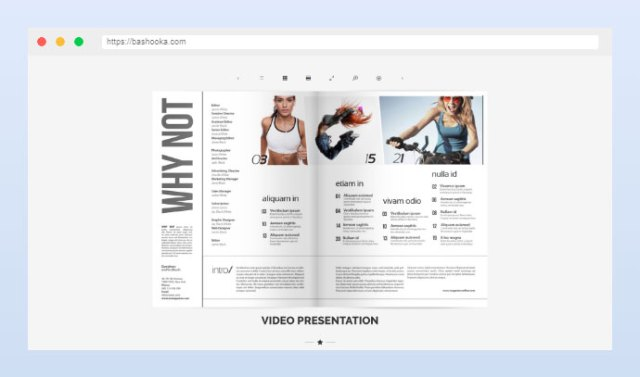 Print FlipBook Extension
