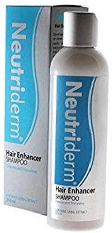 شامبو نيوتردرم مرطب مضاد لتساقط الشعر طبي Neutriderm Hair Enhancer Shampoo