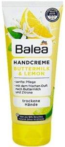 كريم مرطب لليدين شديدة الجفاف Balea Buttermilk & Lemon Hand Cream