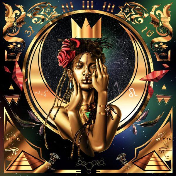 Black Women Queen Art