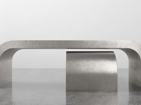 SHINE BY S.H.O.  waterfall coffee table