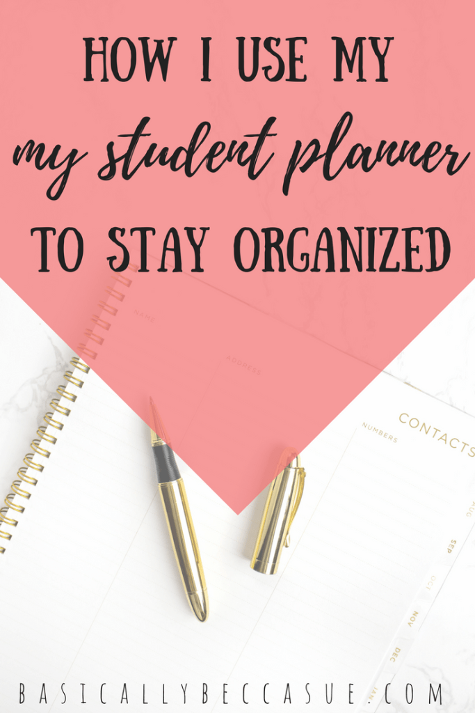 Every college student needs a student planner to keep them organized and help them get better grades.