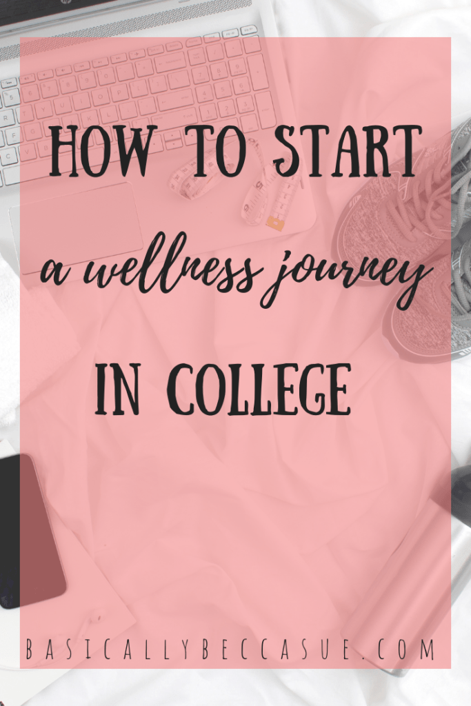 are you a college student that has been wanting to get healthy? Find out how to start a wellness journey in college.