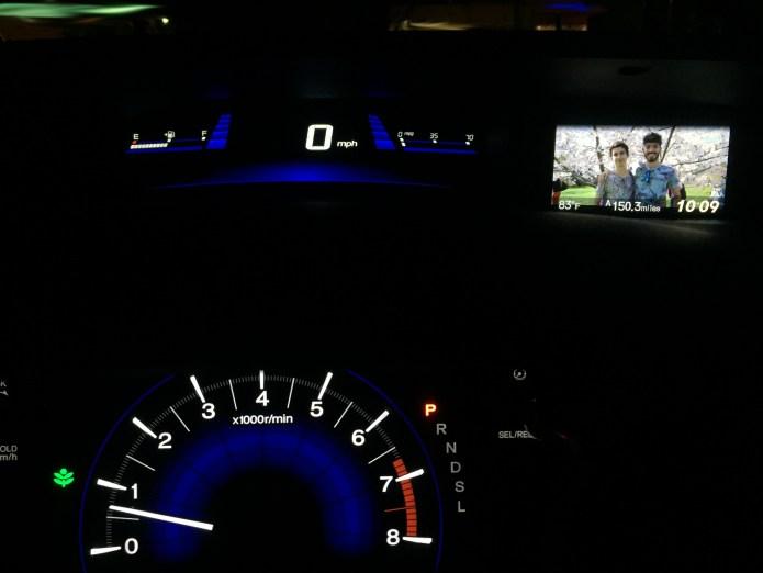 Custom Wallpaper and Eco-Mode in my Honda Civic