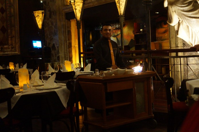 La Madonna Table-side Dinner
