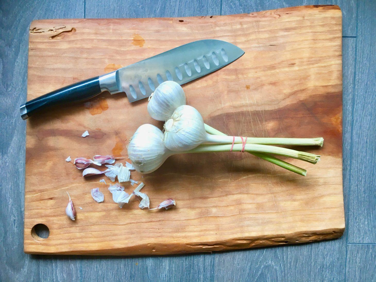 Fresh Ontario Garlic