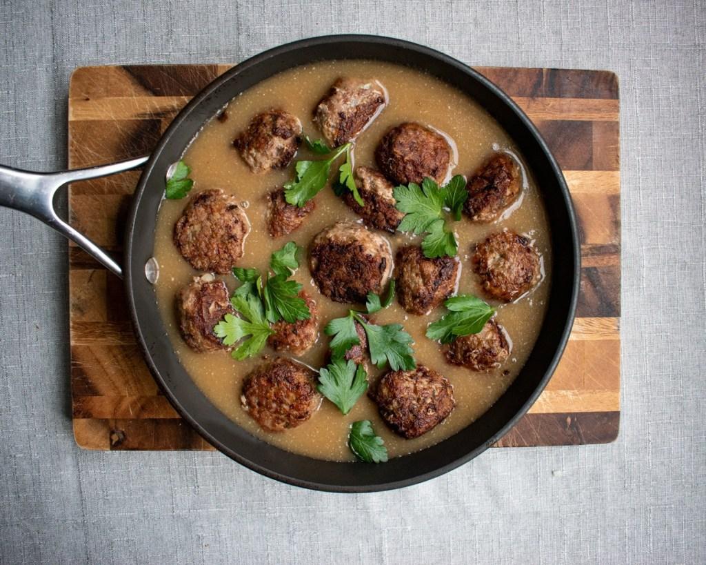 Paleo Sweedish Meatballs