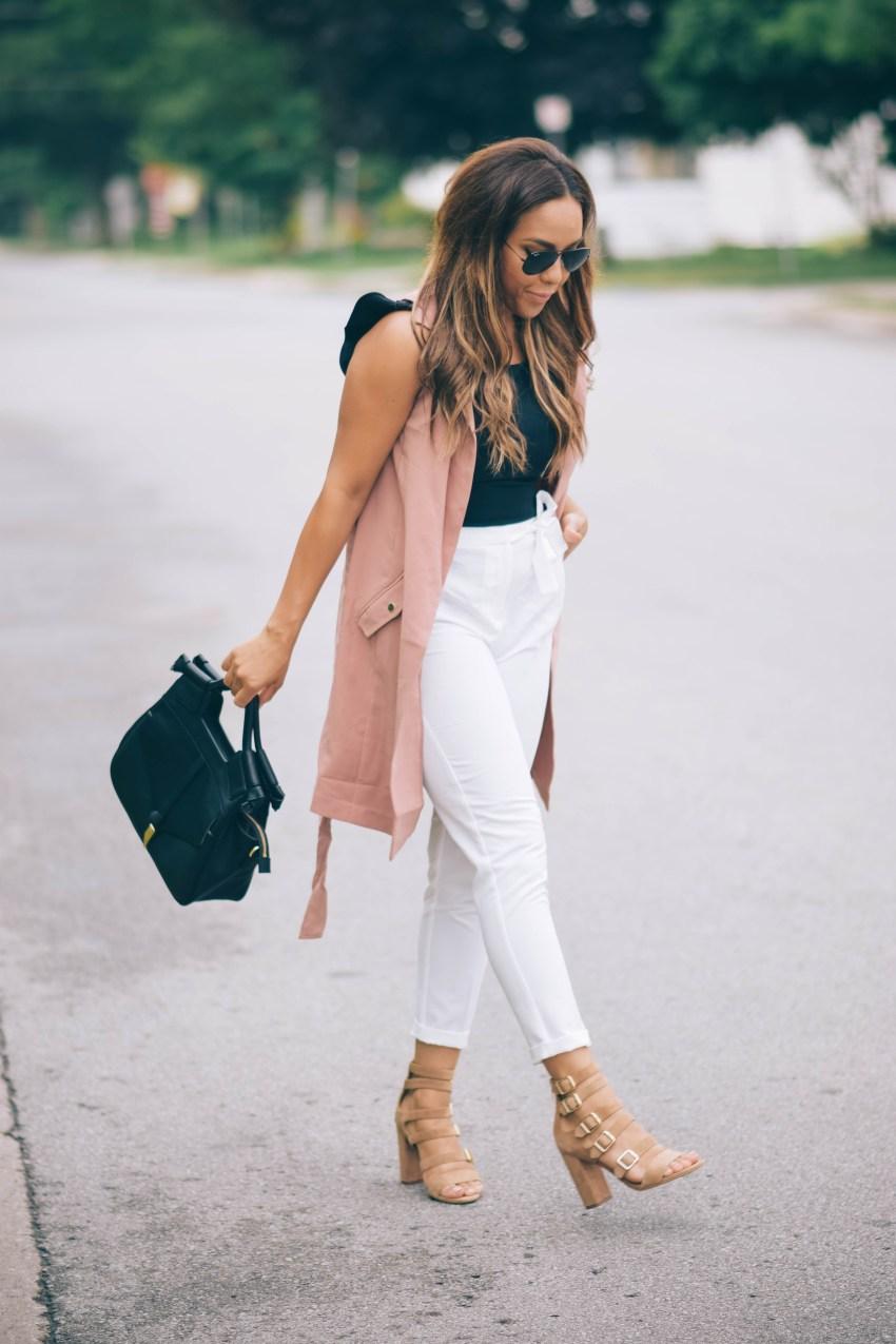 sleeveless vests summer