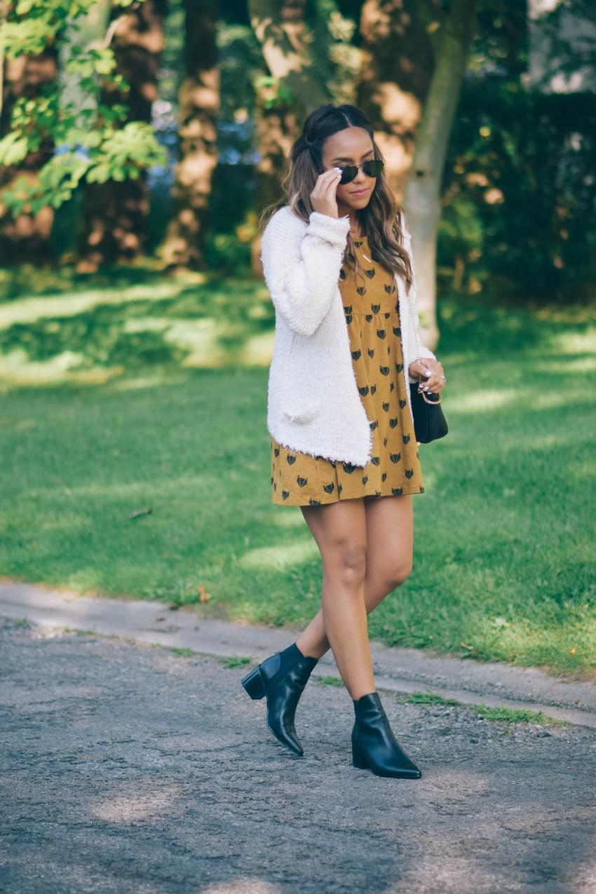 rylee cru fox dress