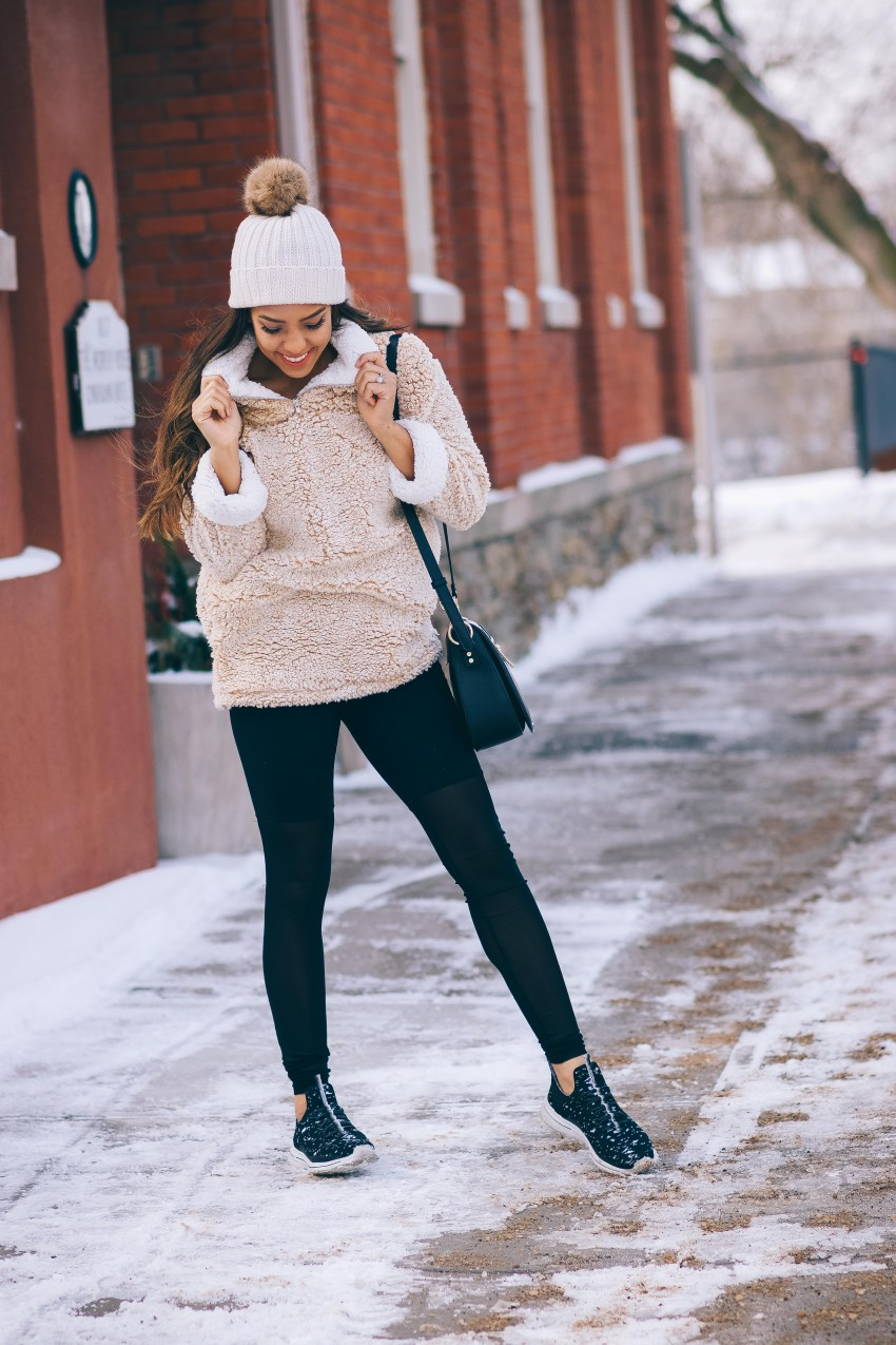 Currently Crushing On: Faux Fleece Pullovers